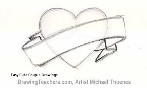 Easy Cute Couple Drawings Cute Easy Drawings Love Tumblr 1000 About