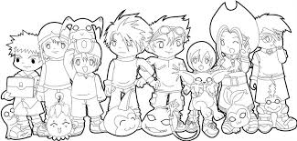 Small Picture Digimon Tamers Coloring Pages Free Printable Ajilbab Portal Bebo