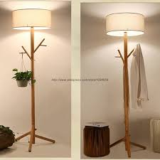 For Living Coat Rack Adorable Interior Coat Rack Lamp Antique Wood Tree Floor Lamp Bedroom