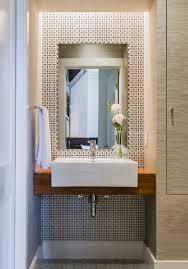 modern half bathrooms. Unique Bathrooms Modern Half Bath  Powder Room For Bathrooms W