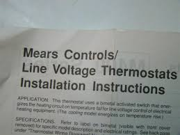 mears thermostat wiring diagram wiring diagrams tarako org Mears Thermostat Wiring Diagram we strive to deliver 5star customer service, bid with confidence! lowvoltage thermostat back Honeywell Thermostat Wiring Diagram