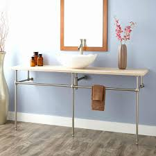 bathroom console vanity. Bathroom Sink Awesome Luxurius Console Sinks For Small Bathrooms Intended Metal Vanity