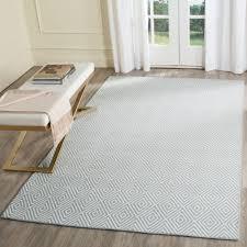 light blue area rug model