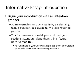 how to start an informative essay the introduction of an  how to start an informative essay the introduction of an informative essay should where to buy com