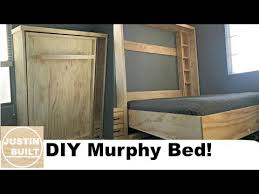 diy wall bed. DIY Murphy Bed Without Expensive Hardware! Diy Wall