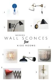 best kids wall sconce iu0027ve rounded up some fantastic modern