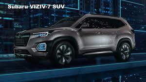 2018 subaru viziv.  viziv first look  2018 subaru viziv7 concept preview  new midsize suv for inside subaru viziv s