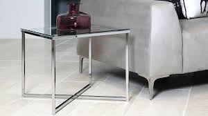 contemporary glass small coffee table square glass lamp table