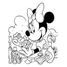 Baby Minnie Mouse Coloring Pages At Getdrawingscom Free For