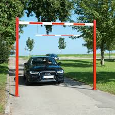 Height Restriction Barriers Design Height Restrictor Barrier Fixed Strong Steel Construction