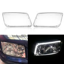 Outdoor Light Cover Replacement Plastic Us 22 14 24 Off For Vw Mk4 Jetta Bora 1998 2004 Car Headlight Headlamp Bulbs Cover Replacement Transparent Plastic Car Light Cover Accessories In