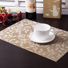 kitchen table placemats 4 pcslot pvc placemat dining tables mats bar mat waterproof