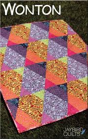 Wonton quilt pattern from Jaybird Quilts & Wonton-quilt-sewing-pattern-Jaybird-Quilts-Julie-Herman- ... Adamdwight.com
