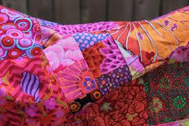 scrap quilt | WOMBAT QUILTS | Page 9 & Kaffe Fassett floral quilt top... circa 2008 Adamdwight.com