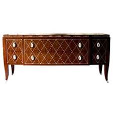 french art deco credenza with ivory inlay art deco office credenza