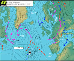 Uk Weather Fine But Chilly Then Storm Lorenzo Leftovers