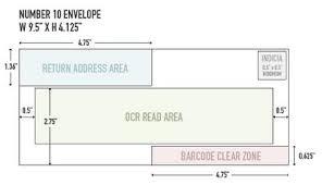 Size Of 10 Envelope Chip Otooles Blog Number 10 Envelope Usps Guidelines