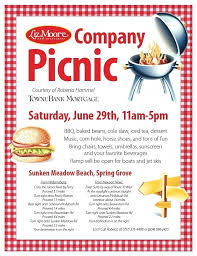 Picnic Flyers Free Picnic Flyer Template Wiisportsleagues Com