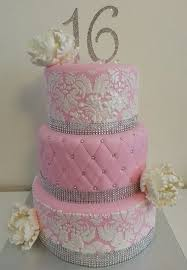 Sweet 16 3 Layered Cake Sweet16party Sweet16cakes Sweet 16 Party