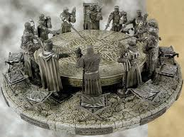 a round table without king arthur