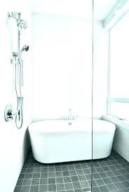 corner bathtub shower combo ideas combination dimensions modern tub bathrooms likable