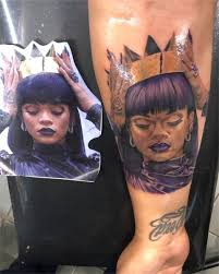 Guess Who On Twitter New Tattoo At Rihanna Rihanna Badgalriri