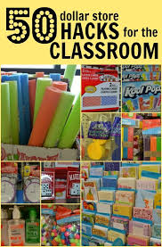 Cheap Charts Teacher Supplies 117 Brilliant Dollar Store Hacks For The Classroom