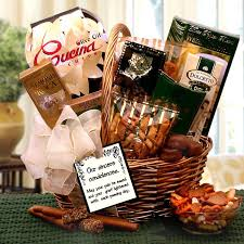 our sincerest condolences gift basket