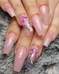 Coffin Black Nail Designs 50 Awesome Coffin Nails Designs Youll Flip For In 2020