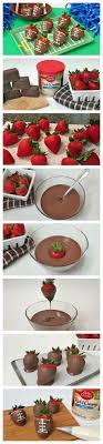 Baby Shower Chocolate Strawberries