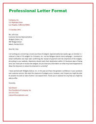 Correct Business Letter Format Systematic From Post Email