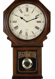 large size of pleasing bulova c ashford ii chiming regulator wall clock seiko qxhbc schoolhouse