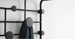 outstanding bema small coat rack black made intended for short prepare 11