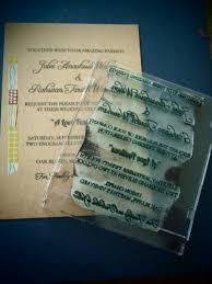 wedding philippines stamped wedding invitations