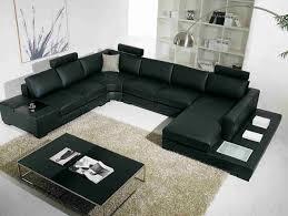 20 Modern Leather Living Room Furniture Home Design Lover