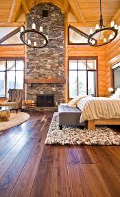 rustic bedroom sticks and stones design