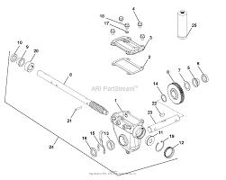 ariens 921034 075000 deluxe 28 parts diagram for gear case zoom