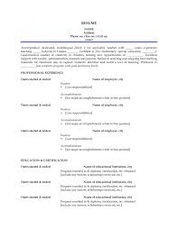Curriculum Vitae Samples For Teacher Job Best Resume Teachers Sample