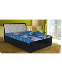 Elegant Foam Beds Online Queen Size Hydraulic Storage Bed With Leatherette  Head Rest Free