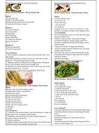 Kamu dapat membuat ayam panggang bumbu rujak berdasarkan resep sisca soewitomo yang dibagikan di buku masakan ayam favorit ala sisca soewitomo terbitan gramedia pustaka utama. Resep Masakan Indonesia