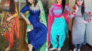 Contrast Dress Design 2018 Punjabi Suit Collection Latest Patiala Salwar Suit Designs Punjabi Suit Designs 2018