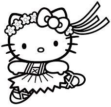 Dessin A Colorier En Ligne Hello Kitty Gratuitl L