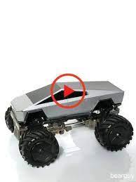 Four Wheel Drive Mini Cyber Track Tesla Cyber Trucks