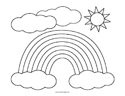 Rainbow bird and rainbow fairy). Free Printable Rainbow Coloring Page Free Printable Rainbow Coloring Page Activity Share This Crayola Coloring Pages Rainbow Drawing Printable Coloring Pages
