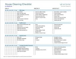 monthly house cleaning schedule template sample cleaning schedule template free printable house cleaning