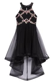 Trixxi Glitter And Tulle Party Dress Big Girls Nordstrom