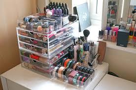 makeup conners organizers plastic makeup storage drawers uk mugeek vidalondon home decor ideas