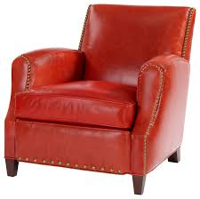 simon retro leather chair armchairs and accent chairs by leathercraft inc
