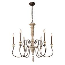 creative home design delightful lnc 6 light ivory white shab chic french country chandelier a03294