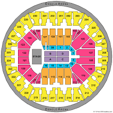 Oakland Arena Seating Chart Cheap Oracle Arena Tickets